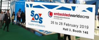 Esposizione SOS electronic a Embedded World 2019